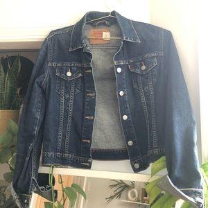 Levi's Denim Jacket Medium Wash Jr Medium
